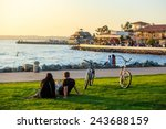 Sunset At San Diego Waterfront...