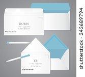 brand identity template.... | Shutterstock .eps vector #243689794