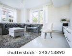 luxury living room | Shutterstock . vector #243713890