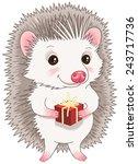 cartoon character. cute... | Shutterstock .eps vector #243717736