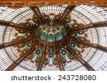 paris  france  on august 25 ... | Shutterstock . vector #243728080