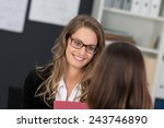Attractive Businesswoman With ...