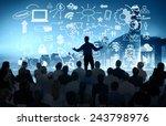 business people corporate... | Shutterstock . vector #243798976