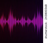 abstract digital equalizer.... | Shutterstock .eps vector #243800368