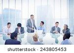 business people corporate... | Shutterstock . vector #243805453