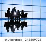 business people discussion... | Shutterstock . vector #243809728