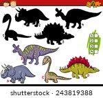 cartoon illustration of... | Shutterstock . vector #243819388