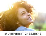 close up portrait of a... | Shutterstock . vector #243828643