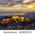 Athens  Greece. After Sunset....