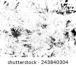 grunge black and white distress ... | Shutterstock .eps vector #243840304