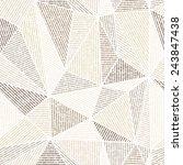 vector seamless background.gray ...   Shutterstock .eps vector #243847438