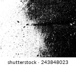 grunge black and white distress ... | Shutterstock .eps vector #243848023