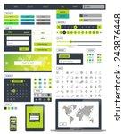 ui kit responsive web design....