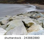 runswick bay | Shutterstock . vector #243882880
