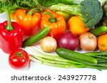 collection fruits and...   Shutterstock . vector #243927778