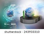 internet security concept | Shutterstock . vector #243933310