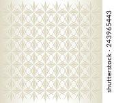geometrical seamless pattern | Shutterstock .eps vector #243965443