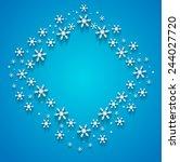 christmas background  vector... | Shutterstock .eps vector #244027720