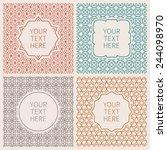 bitmap outline hipster style... | Shutterstock . vector #244098970