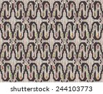 hand drawn tribal vector... | Shutterstock .eps vector #244103773