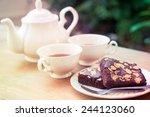 Afternoon Tea With Brownie...