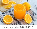 be cut to remove the orange...   Shutterstock . vector #244125010