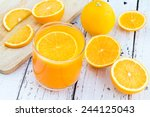 be cut to remove the orange... | Shutterstock . vector #244125043