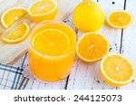 be cut to remove the orange... | Shutterstock . vector #244125073