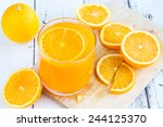 be cut to remove the orange... | Shutterstock . vector #244125370