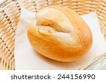 buns in the basket | Shutterstock . vector #244156990