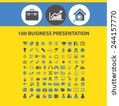 100 business presentation ...