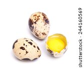 quail eggs | Shutterstock . vector #244160569