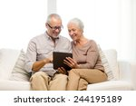 family  technology  age and... | Shutterstock . vector #244195189