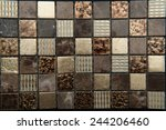 Texture Mosaic Tiles Texture...