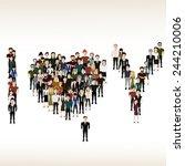 vector illustration of the... | Shutterstock .eps vector #244210006