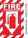 Fire Extinguisher Place Here