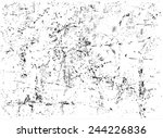 Stock vector grunge texture grunge background vector template 244226836