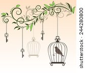 The Little Bird In The Cage....
