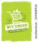 buy green eco shopping cart....