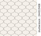 seamless pattern. modern... | Shutterstock .eps vector #244315408