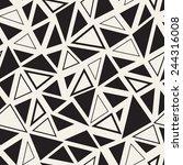 vector seamless pattern.... | Shutterstock .eps vector #244316008
