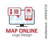 flat conceptual design for... | Shutterstock .eps vector #244316713