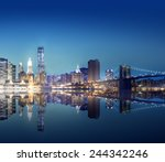New York City Lights Scenic - Fine Art prints