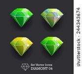 vector collection icons diamond ...