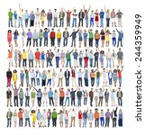 people diversity success... | Shutterstock . vector #244359949