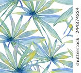 vector abstract watercolor... | Shutterstock .eps vector #244374334