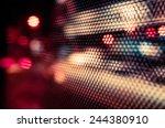 artistic style   defocused... | Shutterstock . vector #244380910