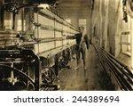 young raoul julien had already... | Shutterstock . vector #244389694