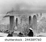 New York City Under Smog When...