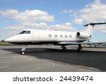 modern jet airplane for... | Shutterstock . vector #24439474